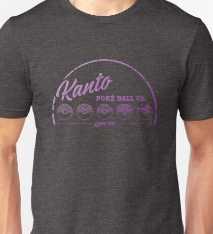 Purple Kanto Poké Ball Company Unisex T-Shirt