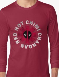Red Hot Chimi Changas Long Sleeve T-Shirt