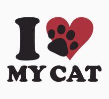 I love my cat by nektarinchen