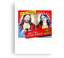 Jesus and Mary Cleaning Services Canvas Print