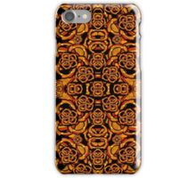 Futuristic Arabesque Pattern iPhone Case/Skin
