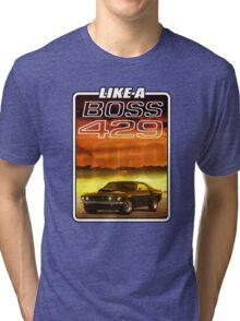 Like a Boss - Sunset Tri-blend T-Shirt