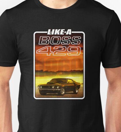Like a Boss - Sunset Unisex T-Shirt