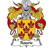 Rosario Coat of Arms/Family Crest Photographic Print