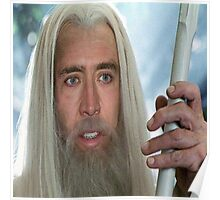 Nicolas Cage the white. Poster