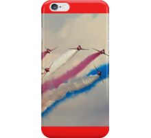 Red Arrows split iPhone Case/Skin