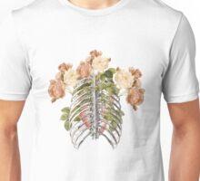She´s got flowers in her heart Unisex T-Shirt