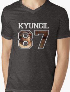 HISTORY - Kyungil 87 Mens V-Neck T-Shirt