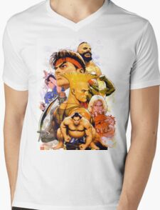 The Fighters Mens V-Neck T-Shirt