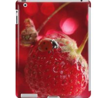 Lady red iPad Case/Skin
