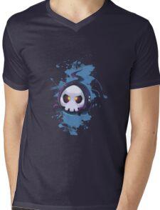 Skull Cute Mens V-Neck T-Shirt