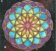 Universal Healing Love Torus by Francesca Love Artist