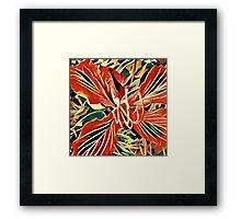 Dragon flower K1 Framed Print
