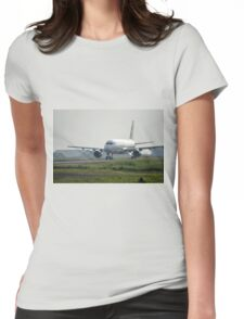Citilink airplane Womens Fitted T-Shirt