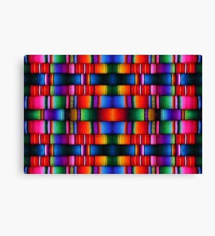 Mexican pattern Canvas Print