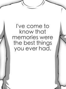 Old Pine - Ben Howard T-Shirt