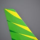 Citilink airplane tail wing by bayu harsa