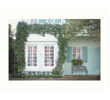 The Colorful Homes of Charleston Art Print