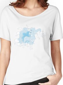 Alola Ninetales T Shirt Women's Relaxed Fit T-Shirt