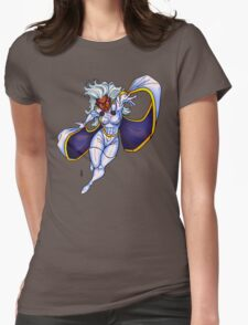 X-MEN Storm 90's Costume Womens Fitted T-Shirt