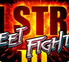 3rd Strike Street Fighter III Title Sticker