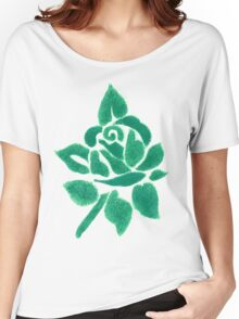 Night shade - Green Women's Relaxed Fit T-Shirt