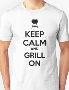 Keep calm and grill on T-Shirt