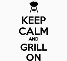 Keep calm and grill on Unisex T-Shirt