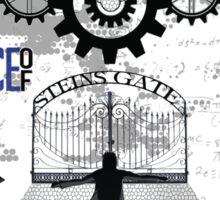 World Line Convergence - Stein;s Gate  Sticker