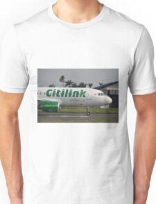 Citilink airplane Unisex T-Shirt