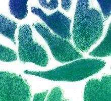 Night shade - Green fade Sticker