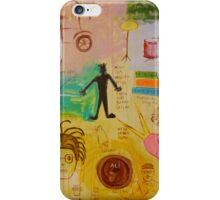 Basquiat Painting iPhone Case/Skin