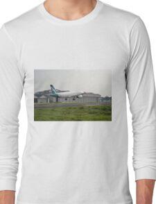 Silk Air airplane Long Sleeve T-Shirt