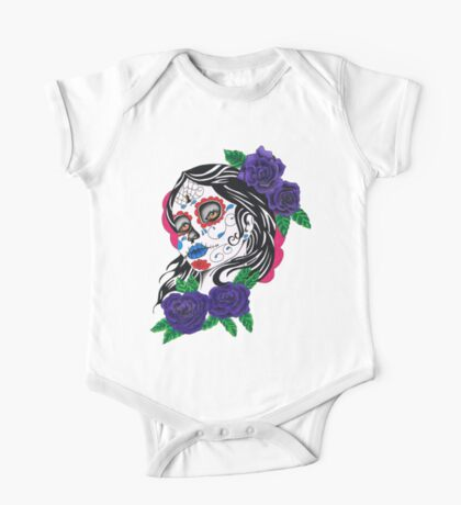 day of the dead girl One Piece - Short Sleeve