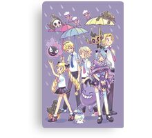 Fire Emblem - Nohr Family in the Rain Canvas Print