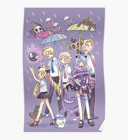 Fire Emblem - Nohr Family in the Rain Poster