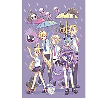 Fire Emblem - Nohr Family in the Rain Photographic Print