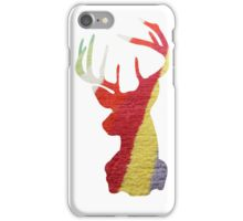 Stripy Stag iPhone Case/Skin