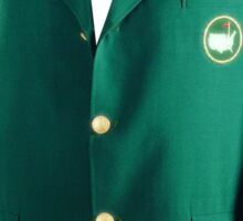 The Masters Augusta Green Jacket Golf (T-Shirt, Phone Case & more) Sticker