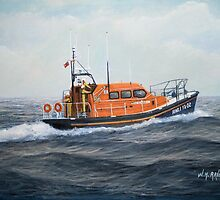 "Royal National Lifeboat Institution MLB ""The Morrell"" by William H. RaVell III"