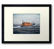 "Royal National Lifeboat Institution MLB ""The Morrell"" Framed Print"