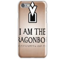 DRAGONBORN Skyrim iPhone Case/Skin