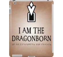 DRAGONBORN Skyrim iPad Case/Skin