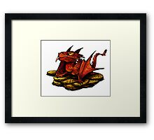 Little Smaug Framed Print