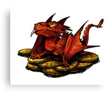 Little Smaug Canvas Print