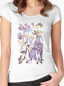 Fire Emblem - Nohr Family in the Rain Women's Fitted Scoop T-Shirt