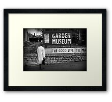 Searching For The Good Life Framed Print