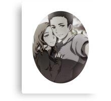 Mulder Scully Selfie Canvas Print