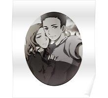 Mulder Scully Selfie Poster