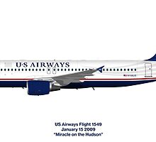 Miracle on the Hudson - US Airways A320 by © Steve H Clark